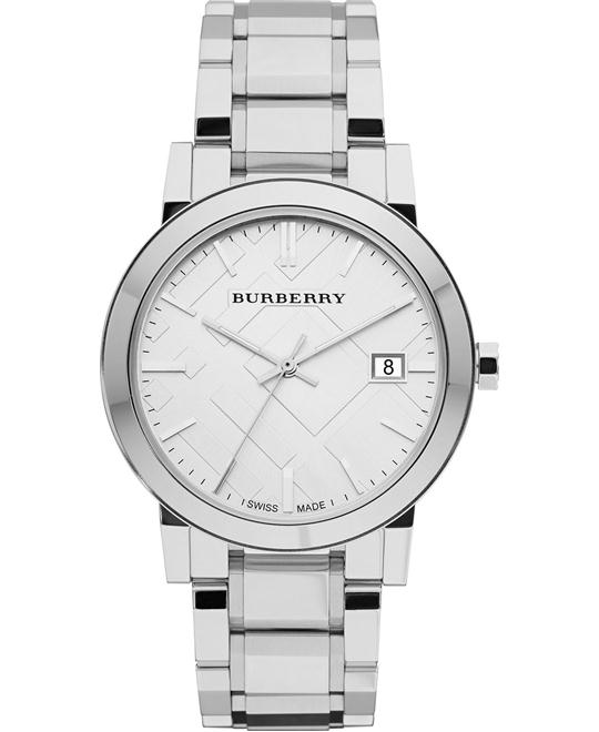 Burberry The City Unisex Swiss Watch 38mm