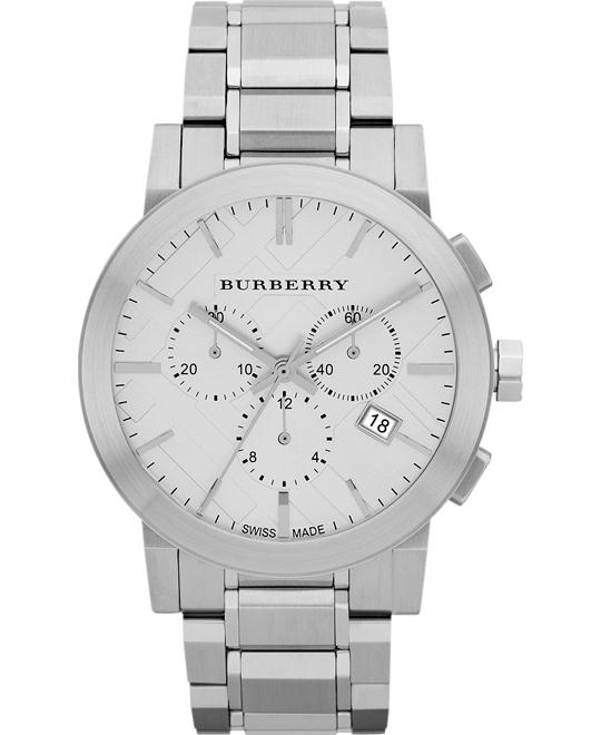 Burberry The City Men's Swiss Stainless Steel 42mm