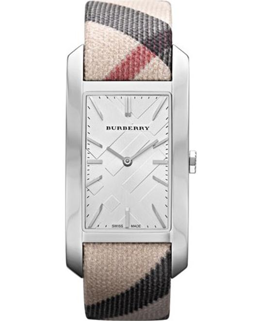 Burberry Heritage Nova Check Strap Women's Watch 25mm
