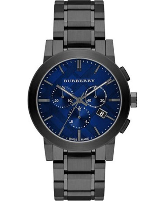 Burberry Swiss Chronograph Gray Watch 42mm
