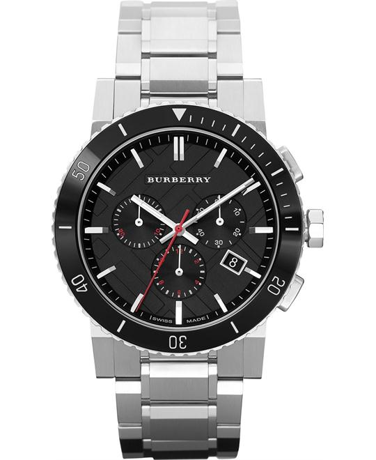 Burberry The City Swiss Chronograph Watch 42mm