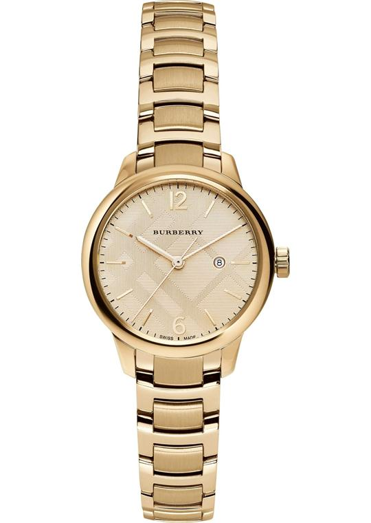 Burberry The Classi Swiss Gold-Tone Watch 32mm