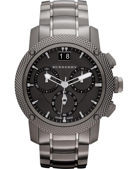 Burberry The Endurance Men's Swiss Chronograph Watch 46mm