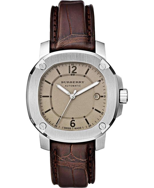 Burberry The Britain Men's Brown Automatic 43mm
