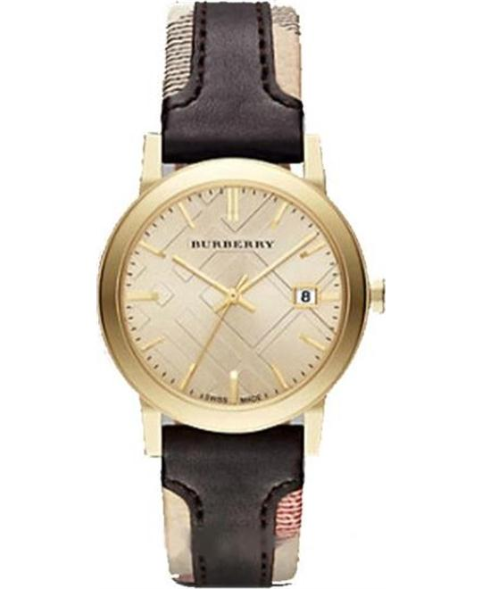 Burberry The City BU9032 Gold-Tone Watch 38mm