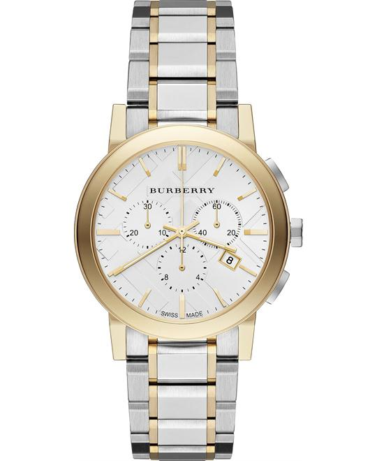 Burberry The City Chronograph Unisex Watch 38mm