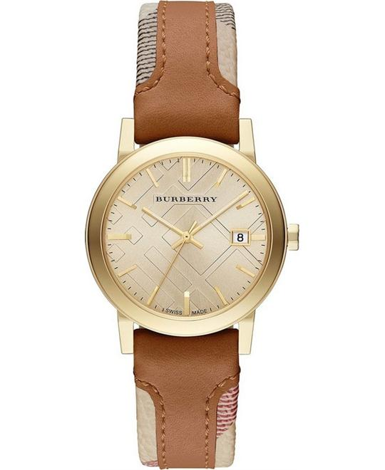 Burberry The City Haymarket Check Watch 34mm