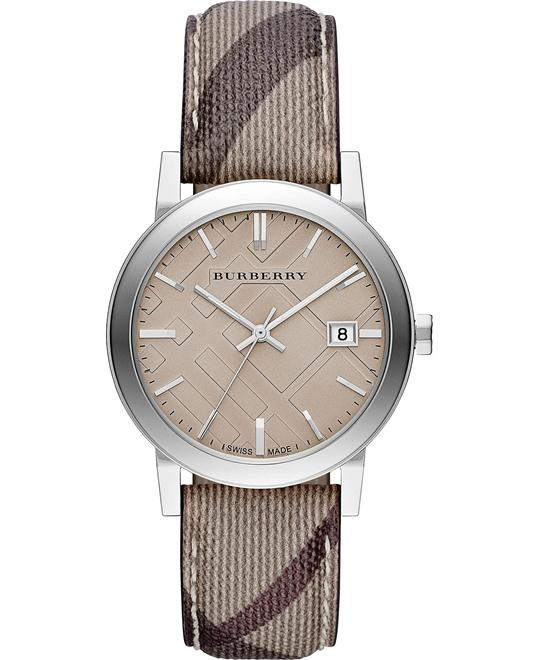 BURBERRY THE CITY SWISS WATCH 34MM