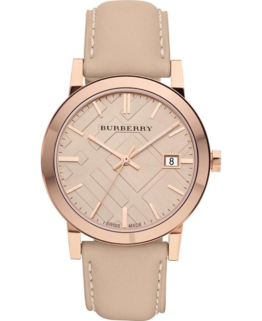 Burberry The City Unisex Watch 38mm