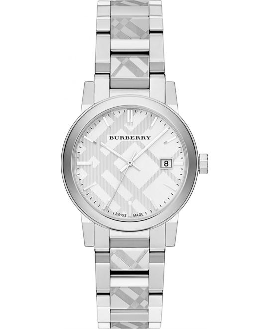 Burberry The City Women's Swiss Stainless 34mm