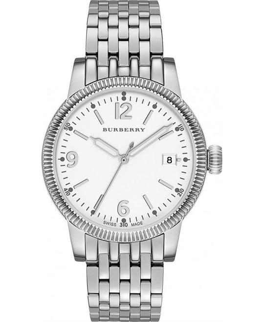 BURBERRY The Utilitarian Whiteadies Watch 38mm