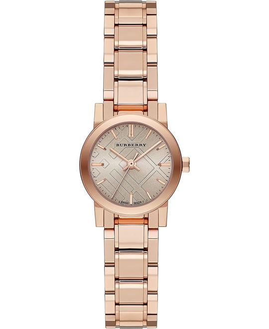 Burberry The City Women's Swiss Gold Stainless Watch 26mm