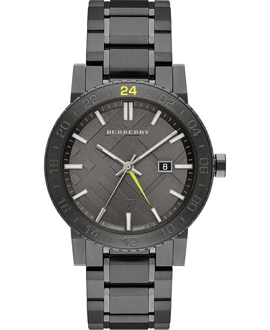 Burberry The City Unisex Swiss Stainless Steel Watch 42mm