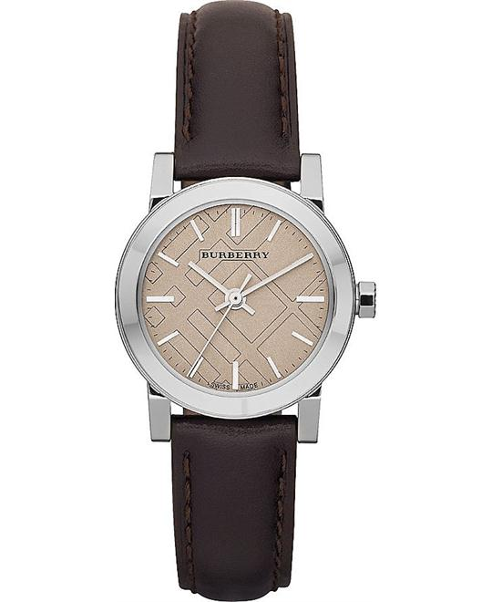 Burberry The City Women's Cream Watch 28mm