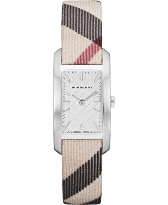Burberry Women's Heritage Nova Check Strap Watch 20mm