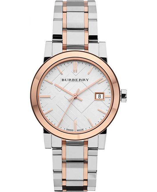 Burberry Women's  Stainless Steel Bracelet Watch 34mm