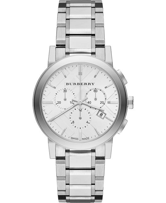 Burberry The City Swiss Chronograph Watch 38mm