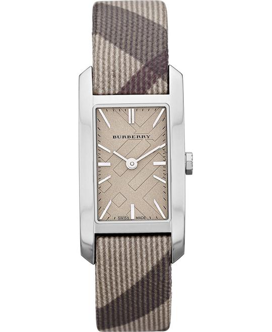 Burberry The Pioneer Women's Swiss Fabric Strap Watch 20mm