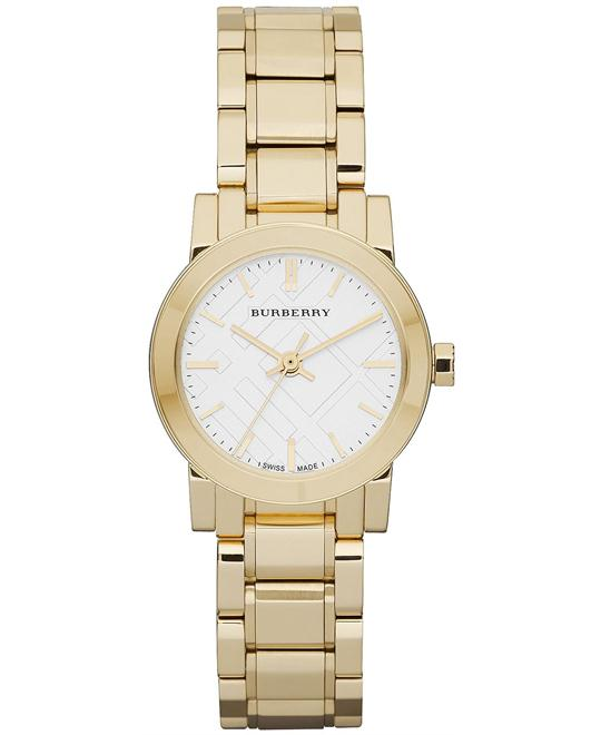 Burberry The City Swiss Gold Women's Watch 26mm
