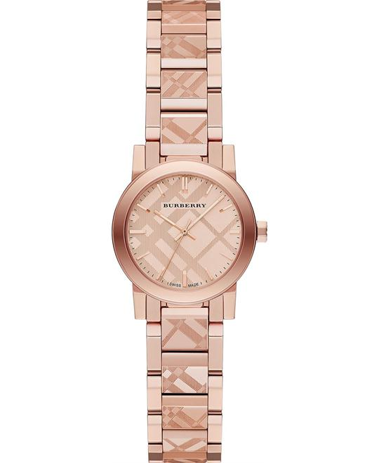Burberry The City Rose Gold Stainless Watch 26mm