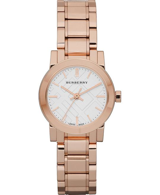 Burberry The City Women's Rose Gold Watch 27mm