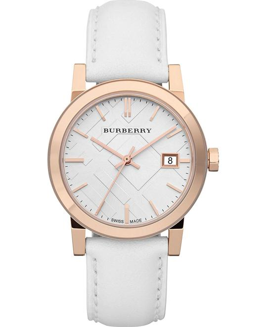 Burberry Check Swiss Women's Watch 34mm