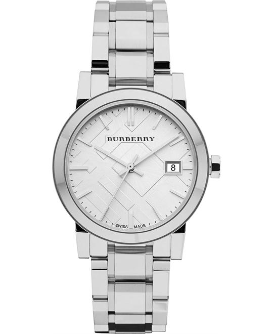 Burberry The City Women's Swiss Stainless Watch 34mm