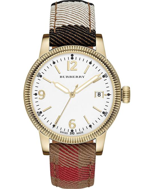 Burberry The Utilitarian Swiss Unisex Watch 38mm