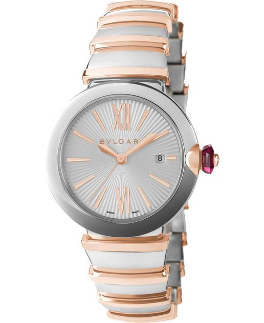 BVLGARI LVCEA  102197 LU33C6SSPGD WATCH 33MM