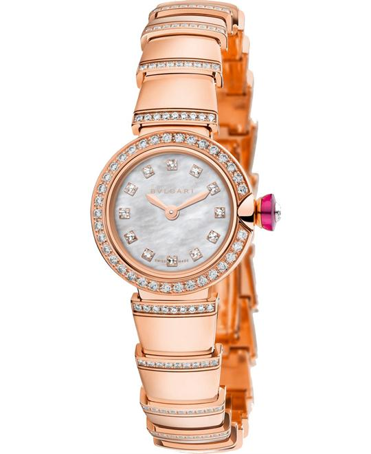 BVLGARI PICCOLA LVCEA 102503 LUP23WGDGD1/12 WATCH 23MM