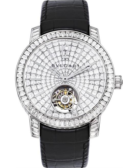 BVLGARI TOURBILLON 102255 BBW41DGDLTB 41MM