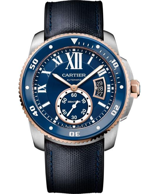 CALIBRE W2CA0008 DE CARTIER DIVER BLUE WATCH 42mm
