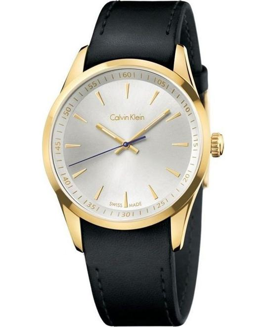 Calvin Klein Bold Silver Dial Quartz Movement  Watch 41mm