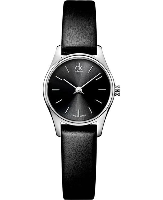 Calvin Klein Ladies Classic Black Watch 24mm