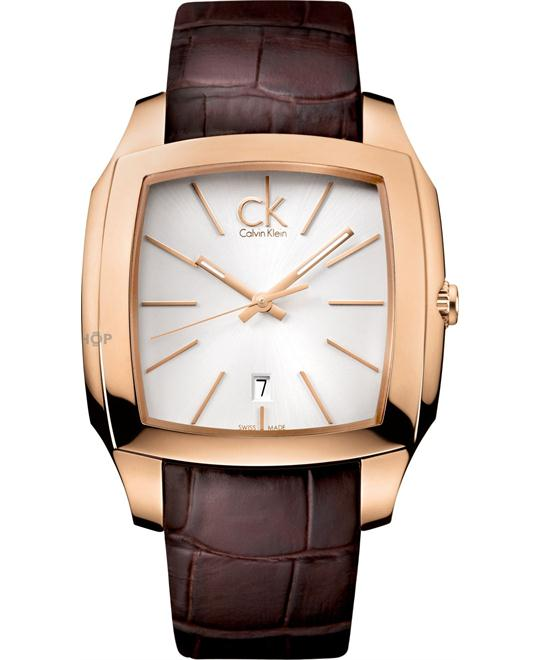 Calvin Klein Men's Rose Gold PVD Stainless Steel Watch 40mm