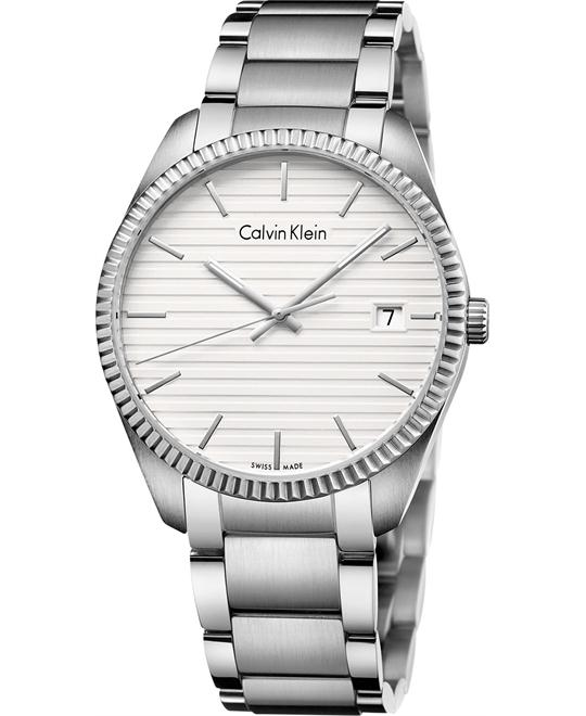 Calvin Klein Men's Swiss Alliance Watch 40mm