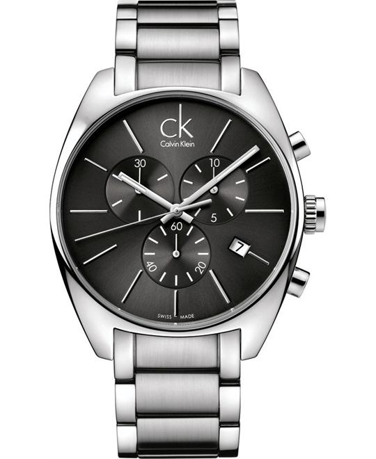 Calvin Klein Men's Swiss Chronograph City Watch 43mm