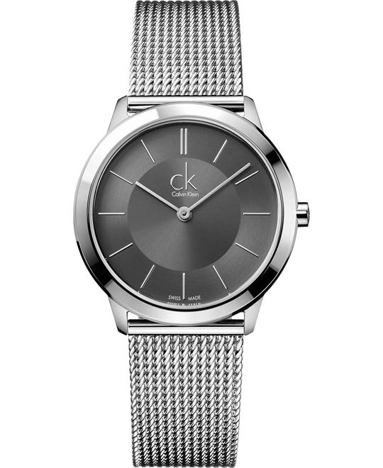 Calvin Klein Swiss Minimal Stainless Watch 35mm