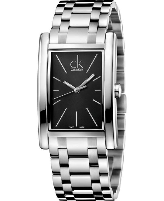 Calvin Klein Men's Swiss Refine Watch 45x30mm