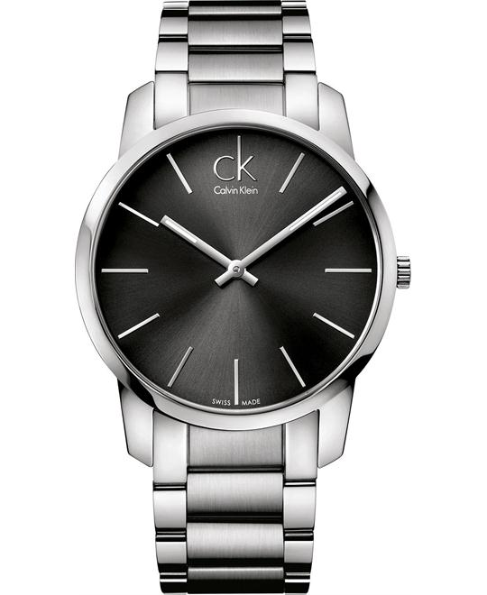 Calvin Klein Men's Swiss Stainless Bracelet 43mm