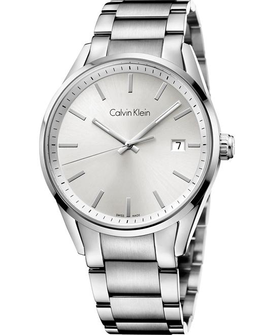 Calvin Klein Men's Swiss Stainless Bracelet 44mm