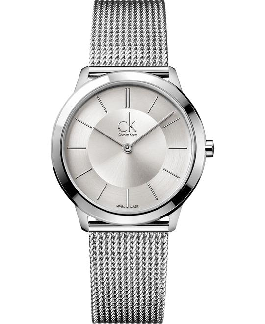 Calvin Klein Men's Swiss Stainless Steel 35mm