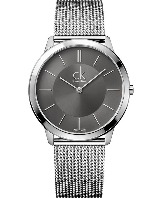 Calvin Klein Men's Swiss Stainless Steel 40mm