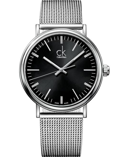 Calvin Klein Men's Swiss Stainless Steel 43mm