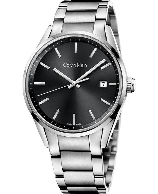 Calvin Klein Men's Swiss Stainless Steel 44mm