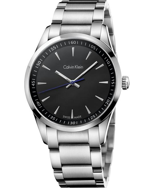 Calvin Klein Men's Swiss Stainless Bracelet Watch 41mm