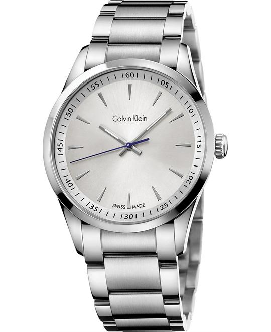 Calvin Klein Men's Swiss Stainless Watch 41mm