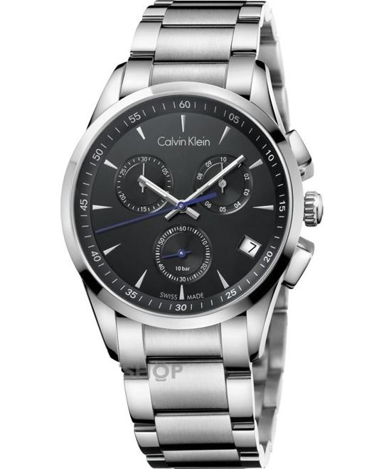 Calvin Klein Mens BOLD Chronograph Watch 41mm