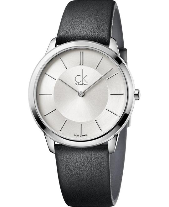 Calvin Klein Minimal Quartz Swiss Watch 40mm
