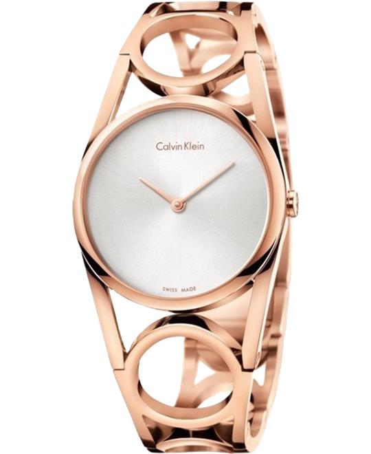 Calvin Klein Round Women's Watch 34mm